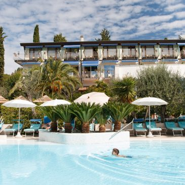 Collaboration with Hotel Olivi in Sirmione on Lake Garda