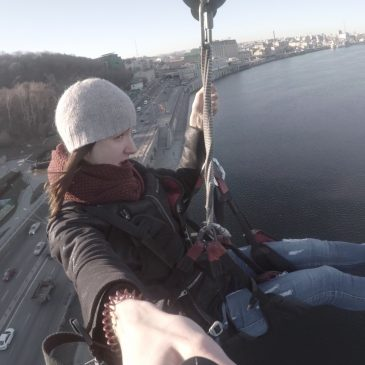 Dnipro with GoPro