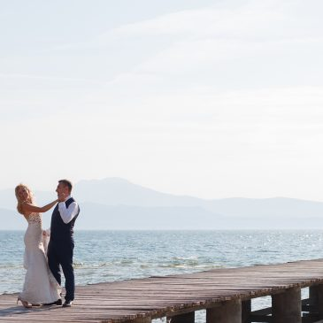 Wedding story in Sirmione